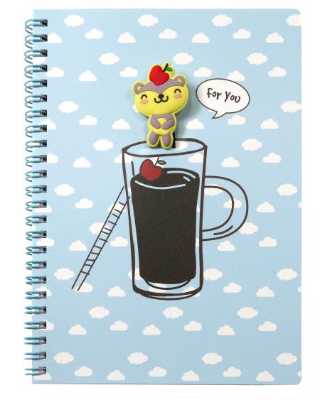 Cup fate bookmark notebook