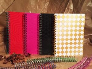 Placage coloré UV SPOT Cahier à spirale - Placage coloré UV SPOT Cahier à spirale