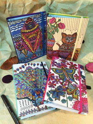 Color Zentangle Art Style Organizer
