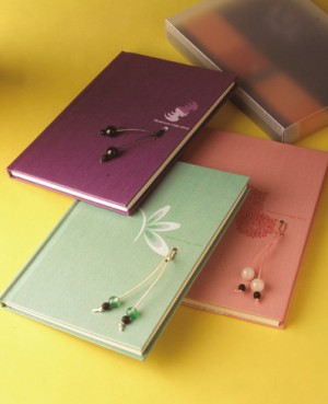Mysterious Crystal Notebook - Natural crystal notebook