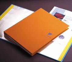 Livre d'affichage de tissu de totem oriental - Livre d'affichage en tissu