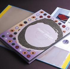 Mode POP Karton-Ausstellungsbuch