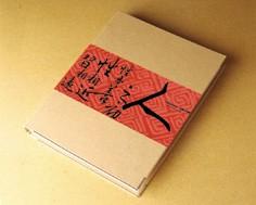 Dossier de reliure à anneaux 2 D - Série de calligraphie chinoise - Dossier de données de reliure à anneaux 2D
