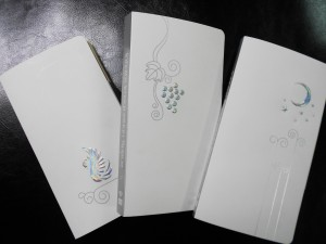 Diamond Embossing PP Synthetic Paper Spiral notebook