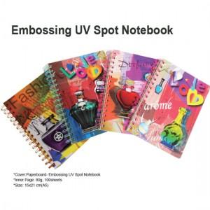 Embossing UV Spot Notebook - Embossing UV Spot Notebook