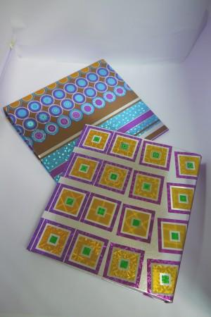 Foil Embossing 3 Ring binder