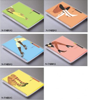 FAD+ING Style PP Cover Notebook - Fashion style design PP notebook
