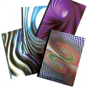 Kompositionsnotizbuch mit Folienprägung - Kompositionsnotizbuch mit Folienprägung