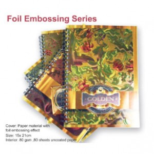Foil Embossing Notebook - Foil Embossing Notebook