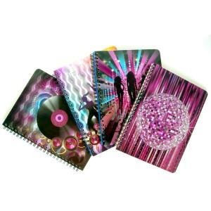 Foil Embossing Spiral Notebook - Foil Embossing Spiral Notebook