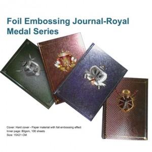 Foil Embossing Journal - Royal Medal Series - Foil Embossing Journal - Royal Medal Series
