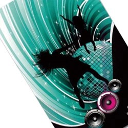 Блокнот для журналу з палітуркою - серія тиснення фольгою