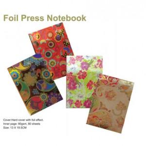 Folienpresse Notizbuch - Folienpresse Notizbuch