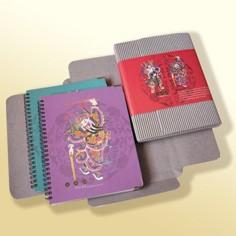 Geschenkset mit orientalischem Design-Notizbuch - Notizbuch-Geschenkset