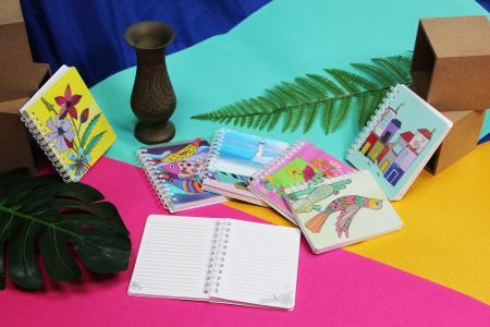 Carnet de notes design Cha Cha
