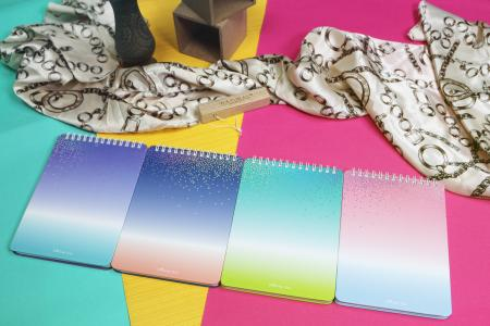 Shining star design report notebook