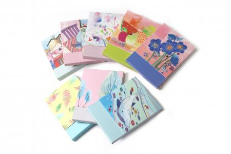 Cha Cha design magnet notepad