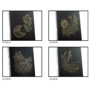 Laser Engraving Spiral Notebook with Cardboard - Laser Engraving Spiral Notebook with Cardboard
