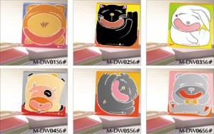 Не хвилюйтесь, Be Happy Memo pad - Склеєна підшивка Пам'ятна колодка Cute Series