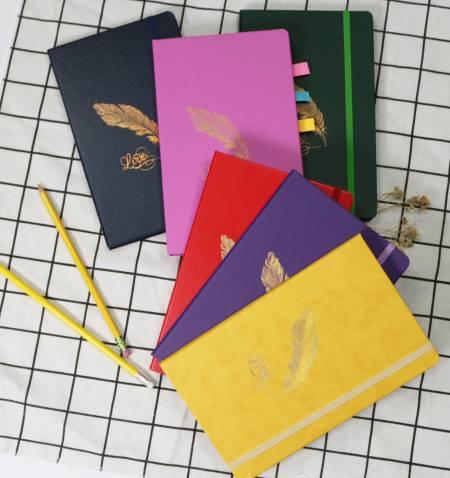 Tagebuch im Moleskin-Stil