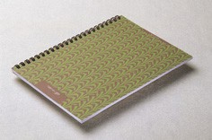 Geometric Soft Cover Spiral Notebook - Geometric Soft Cover Spiral Notebook