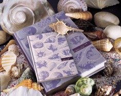 Nature Beauty Linen Journal - Linen Journal With Recycled Inner Page