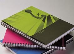 Hip Sport Hard Cover Spiral Notebook - Hip Sport Design Spiral Notebook