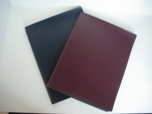 PU Leather Spiral Notebook - PU Leather Spiral Notebook