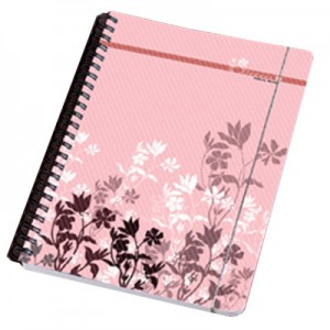 PP Cover Notebook with Elastic