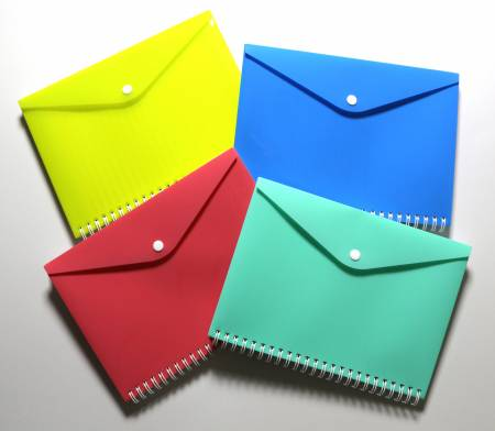 PP envelope notebook