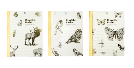 Beautiful Realm Recycled PP Notebook