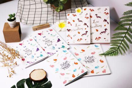 Stitching-Notizbuch zur Stimmungsheilung
