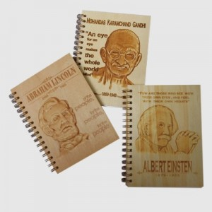 Wood Relief Embossing Notebook - Wood Relief Embossing Notebook