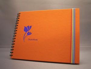 Totem Style Silk Cotton Sketchbook
