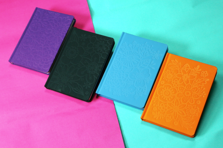 Silk Cotton Emboss Notebook