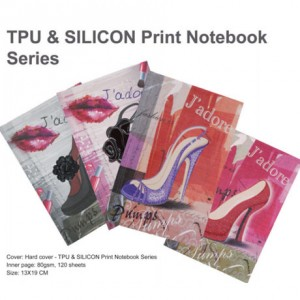 TPU & SILICON Print Notebook - TPU & SILICON Print Notebook