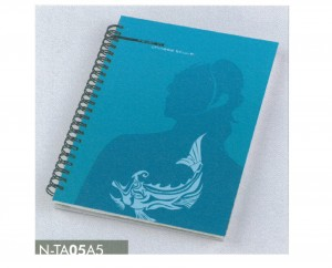 Tattoo Series Spiral Notebook - Tattoo Series Notebook- A5 Hard cover