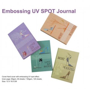 UV SPOT Journal mit Prägung - UV SPOT Journal mit Prägung