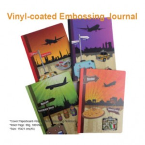 Vinylbeschichtetes Prägejournal - Vinylbeschichtetes Prägejournal