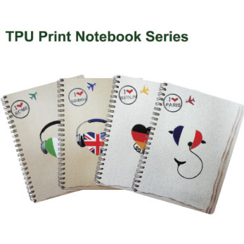 Tpu Print Notebook Supply Fsc Ohsas Iso Certified