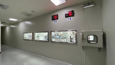 Our 10k/1k grade clean rooms strictly control factors that might affect the production, including humidity, temperature, and the environment.