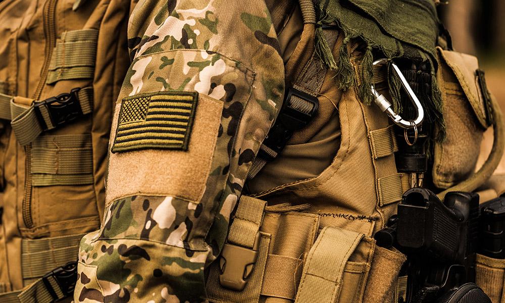 Équipement militaire.