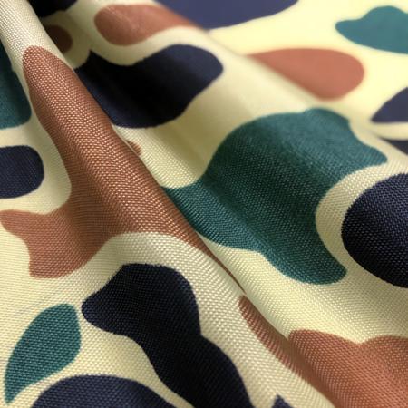 Tissu militaire et de protection camouflage 200D en nylon - Tissu militaire et de protection camouflage 200 deniers en nylon.