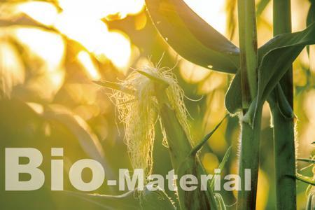 Le tissu biosourcé à partir d'énergie végétale renouvelable.