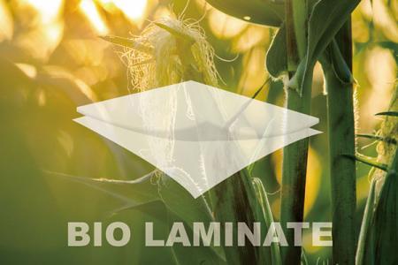 可回收,生質基與無溶劑的複合後加工材料。