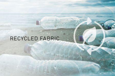 Tissu recyclé - La réutilisation des textiles entraîne de plus grands avantages environnementaux.