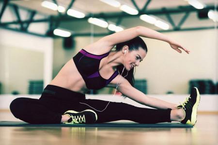 運動或訓練健身針織面料。