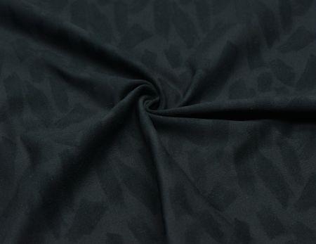 Tissu Poly Stretch avec Jacquard Fluffy - Extensibilité dans les 4 sens, évacuation de l'humidité, toucher doux.