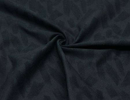 Poly Stretch Fabric with Jacquard Fluffy - 4-Way Stretch, Moisture Wicking, Soft Handfeel.