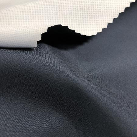 Polyester Weft Stretch 75D Water Repellent Lamination Fabric - Polyester Weft Stretch 75 Denier Water Repellent Lamination Fabric.
